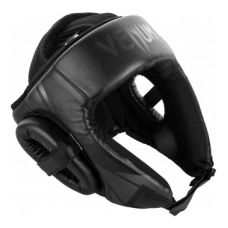 Боксерский шлем  VENUM CHALLENGER OPEN FACE HEADGEAR - BLACK/BLACK