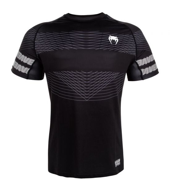 Майка компрессионная VENUM CLUB 182 DRY TECH T-SHIRT - BLACK