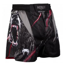Шорты  VENUM GRIZZLI FIGHTSHORTS - BLACK/WHITE