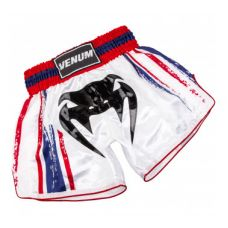 Шорты  VENUM BANGKOK SPIRIT MUAY THAI SHORT - WHITE
