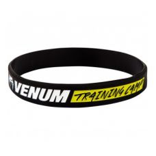 Браслет  VENUM RUBBER BAND - TRAINING CAMP - BLACK