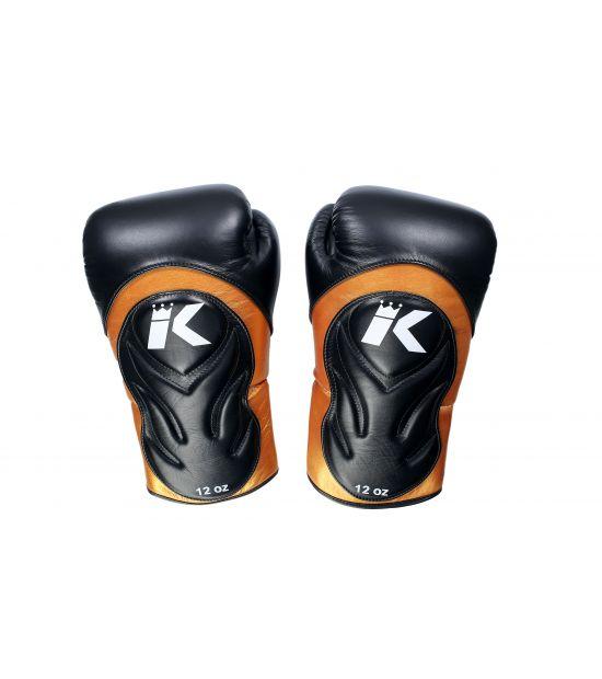Боксерские перчатки King Pro Boxing BG STAR - BLACK/GOLD