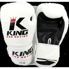 Боксерские перчатки King BGK-2 white