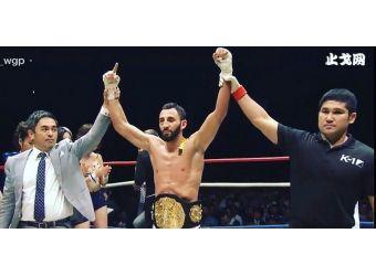Чингиз Аллазов - абсолютная победа  на турнире K-1  WGP  в  Японии...