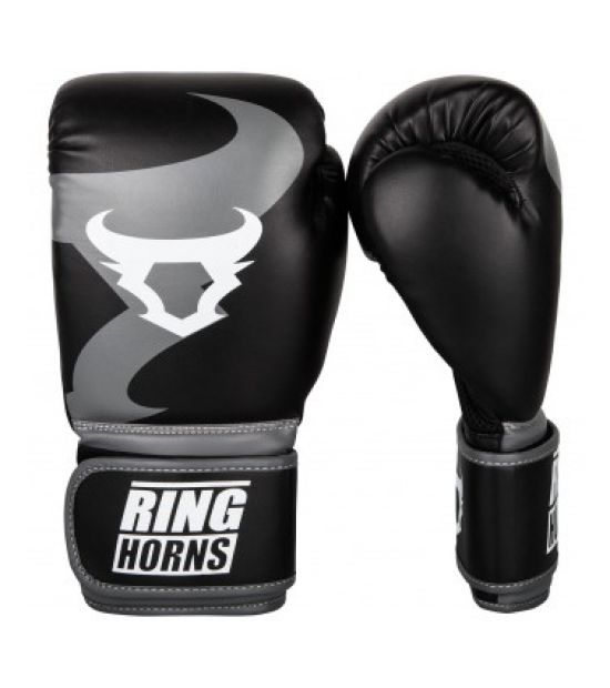 Боксерские перчатки  RINGHORNS CHARGER BOXING GLOVES - BLACK