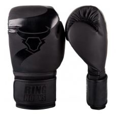 Боксерские перчатки  RINGHORNS CHARGER BOXING GLOVES - BLACK/BLACK