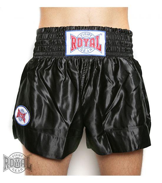 Шорты для тайского бокса ROYAL TTR-black