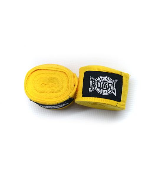 Бинты боксерские ROYAL HWR-4.6m yellow