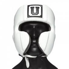 Боксерский шлем мексиканского стиля одноразмерный Ultimatum Boxing Gen3Mex WhiteForce