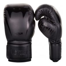 Боксерские перчатки VENUM GIANT 3.0 BOXING GLOVES - NAPPA LEATHER - BLACK/BLACK