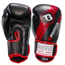 Боксерские перчатки Booster BGL 1 V3 BLACK/RED FOIL