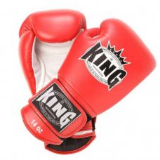 Боксерские перчатки King  BGK-6 red