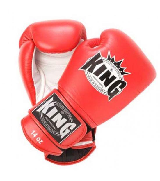 Боксерские перчатки King Pro Boxing  BGK-6 red