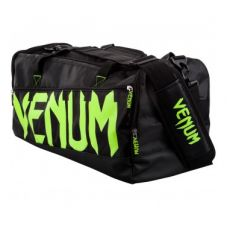 Сумка  VENUM SPARRING SPORT BAG - BLACK/NEO YELLOW