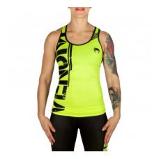 Майки тренировочные VENUM POWER TANK TOP - NEO YELLOW/BLACK - FOR WOMEN