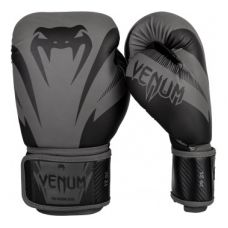 Боксерские перчатки VENUM IMPACT BOXING GLOVES - GREY/BLACK