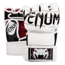 Перчатки для ММА  VENUM UNDISPUTED 2.0 MMA GLOVES - WHITE - NAPPA LEATHER