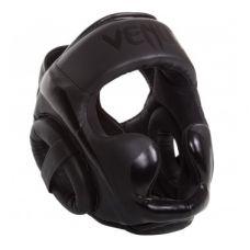 Боксерский шлем  VENUM ELITE HEADGEAR-BLACK