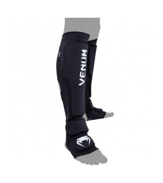 Накладки на ноги  VENUM KONTACT EVO SHINGUARDS - BLACK
